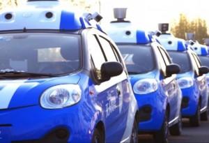 В Китае запустили первые беспилотные автомобили на дороги общего пользования