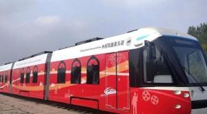В Китае запустили трамвай, работающий на водороде