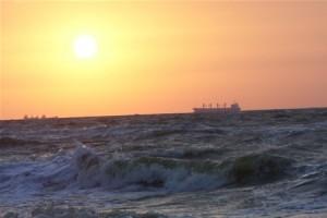 В Китае затонул корабль