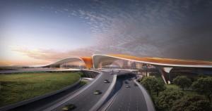 В Китае завершили строительство скоростной трассы к аэропорту Дасин