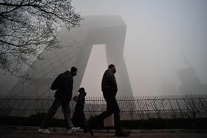 В Пекине остановлены 2 тысячи предприятий из-за смога