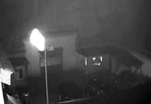 В буддийский храм в Китае залетел НЛО