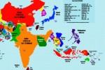 В интернете появилась карта мира, на которой вместо России Китай