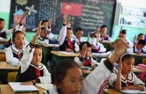 В китае погибли школьники