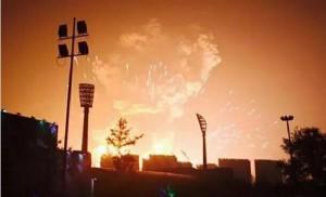 В одном из китайских мегаполисов прогремел мощные взрыв, есть пострадавшие