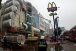 В огне в Китае сгорело 27 человек