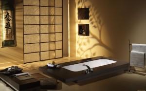 Ванная комната в китайском стиле