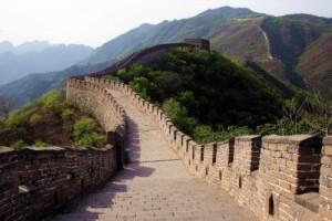 Великая Китайская стена «тает»