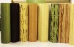 Виды бамбуковых полотен