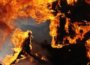 Во время пожара в китайской больнице погибли четыре человека