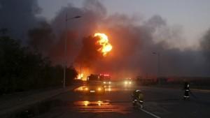 Во время взрыва на химическом заводе в Китае погибли два человека