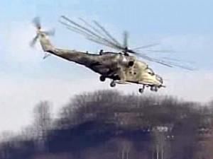 Военный вертолет разбился в Китае