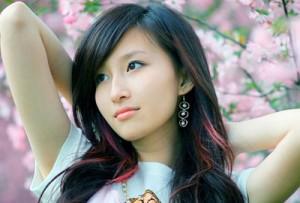 Волосы на китайских женщинах