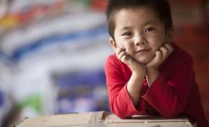Воспитание детей в Тибете