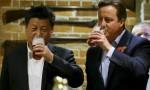 Встреча Дэвид Кэмерона и Си Цзиньпина закончилась посещением бара
