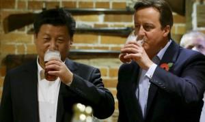 Встреча Дэвид Кэмерона и Си Цзиньпина