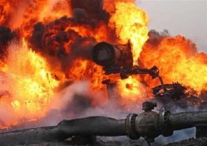 Взрыв газопровода в Китае