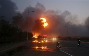 Взрыв в Поднебесной на складе найден выживший