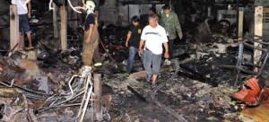 Взрыв в китайском магазине петард забрал жизни 5 человек