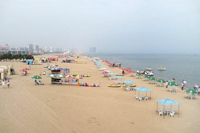 пляжи Янтай