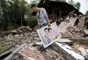 Запад Китая сотрясает землетрясение