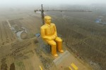 Золотую статую Мао снесли через три дня после установки