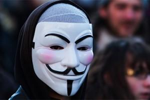 Хакеры из Anonymous атакуют китайские правительственные сайты