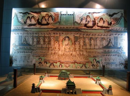 Уникальные настенные росписи обнаружены археологами в Шэньси