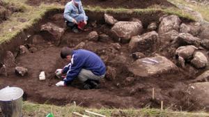 Китайские археологи обнаружили стоянку человека эпохи палеолита