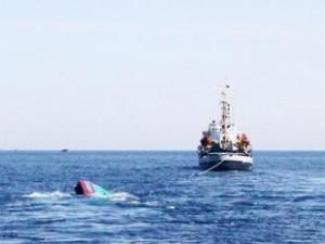 Китайское судно затонуло  28 октября