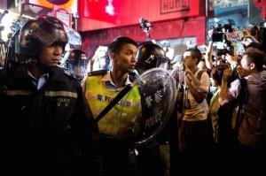 Массовые протесты Гонконг
