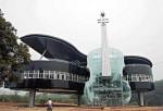 Китайский дом в виде рояля
