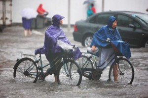 720 тысяч людей пострадало от проливных дождей в провинции Хунань