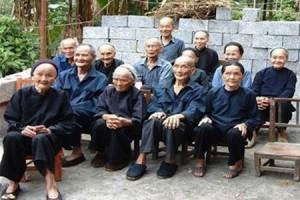 В Китае проживает 58789 долгожителей, которым больше 100 лет