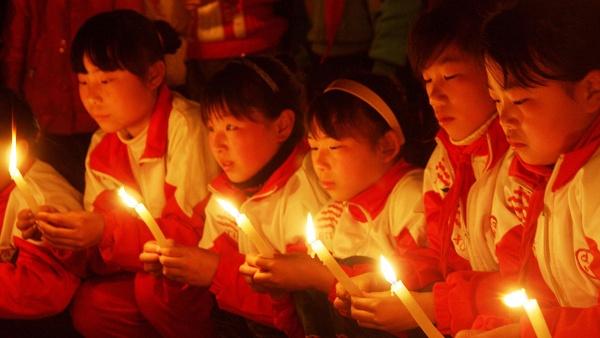 Фестиваль голодных духов в Китае