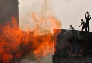 Установлена причина взрыва на фабрике фейерверков в Китае