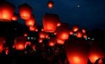 Праздник бумажных фонарей в Китае