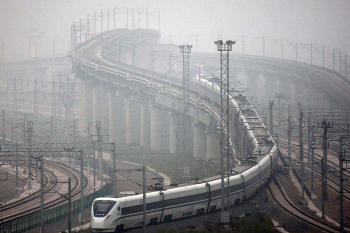 3 железнодорожных рекордсмена Китая