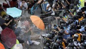 Глава администрации Сянгана призвал протестующих в Гонконге разойтись