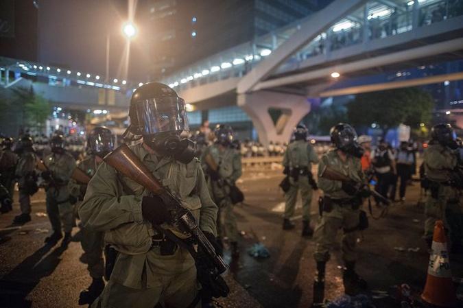 Протестующие в Гонконге поставили ультиматум правительству