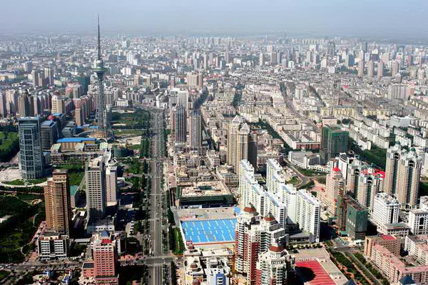 10 крупнейших мегаполисов Китая