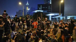 Ситуация в Гонконге накаляется