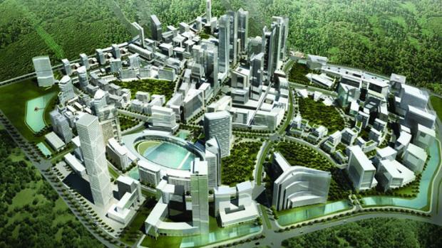 """В Китае откроют базу по разработке проекта """"умного"""" города"""