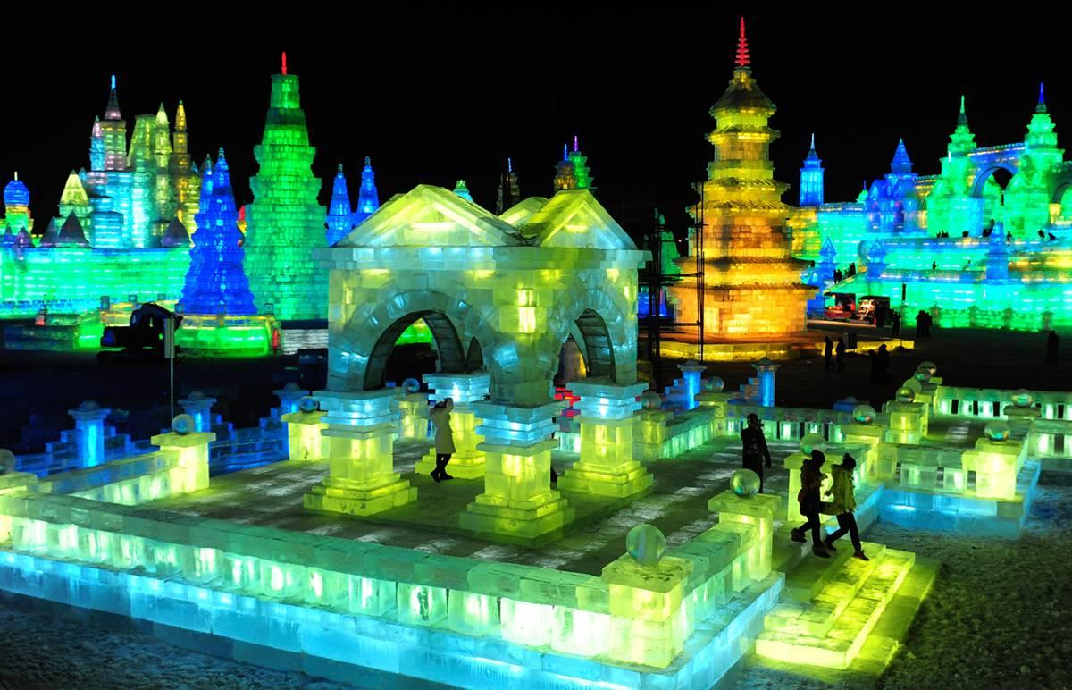 Международный фестиваль снега и льда в Харбине