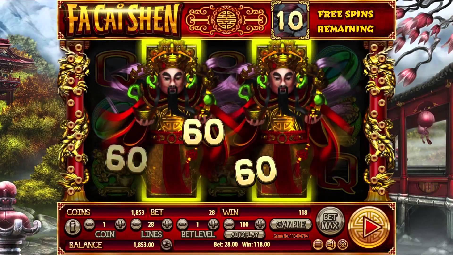 игровой автомат Fa Chai Shen