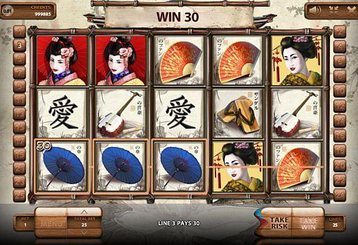 игровой автомат Geisha Endorphina