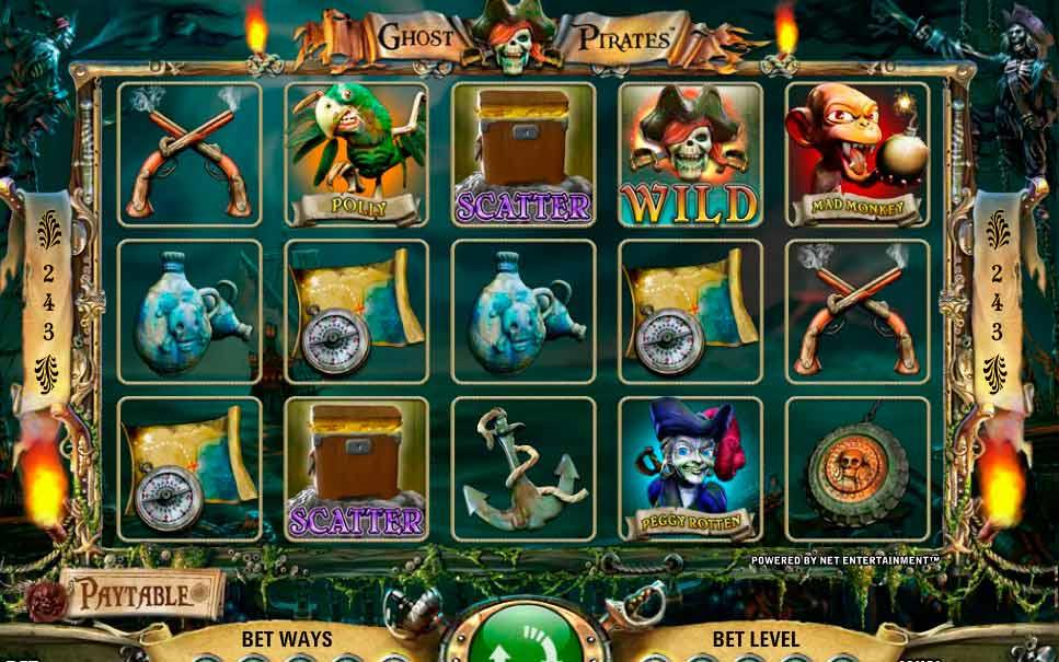 игровой автомат Ghost Pirates2