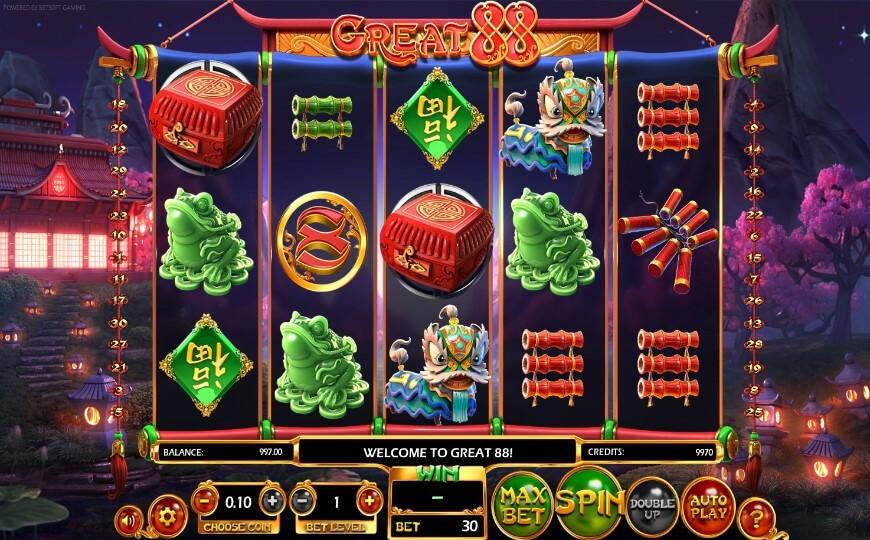игровой автомат Great 88