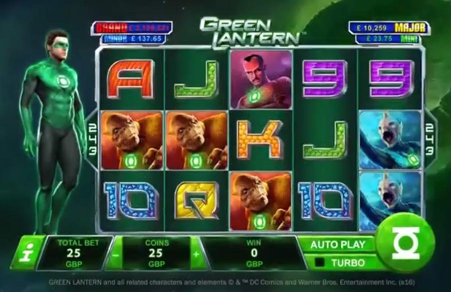 игровой автомат Green Lantern