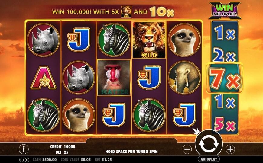 игровой автомат Hot Safari